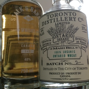 Still Waters Stalk & Barrel 1+11 Blended Canadian Whisky and Toronto Distillery Co.'s Organic Ontario Wheat Whisky