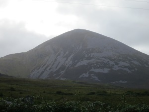 Photo of Croagh Patrick as seen in September 2013