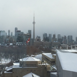 Toronto skyline facing south from Bloor
